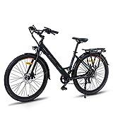 """Ranger-500 28"""" Bici Elettrica da Città, Batteria Rimovibile Agli Ioni di Litio da 36 V/10 Ah, Shimano a 7 Velocità, Sella Regolabile, Freni a Doppio Disco Tektro,Bicicletta Elettrica per Pendolarismo"""
