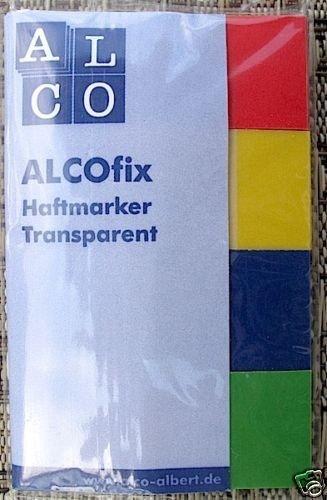 ALCOfix Haftmarker Haftnotizem 6833  160 Streifen