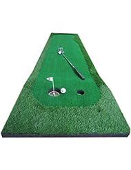 TT Golf Putter Practice Indoor Putt Practice Manta Golf Mats Long 300cm ( Tamaño : 50*300cm )