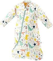 SaponinTree Saco de Dormir de Invierno para Bebé, 3,5 Tog, Saco de Dormir de algodón 100% orgánico con Manga L