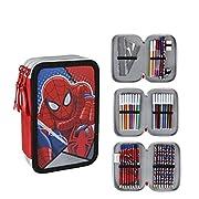 ¡Los niños merecen lo mejor, por eso te presentamos Plumier Triple Spiderman 194, ideal para quienes buscan productos de calidad para los más peques! ¡Consigue Spiderman y otras marcas y licencias a los mejores precios!Medidas aprox.: 12,5 x ...