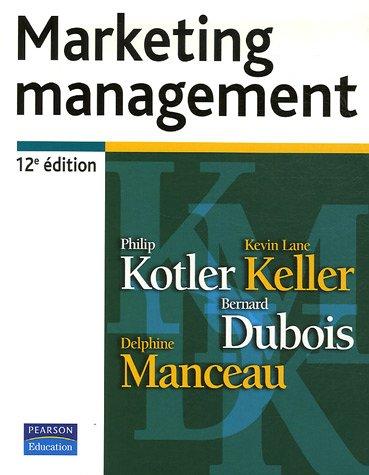 marketing management philip kotler et bernard dubois pdf