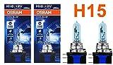 OSRAM COOL BLUE INTENSE H15 15/55W 12V Halogenleuchtmittel