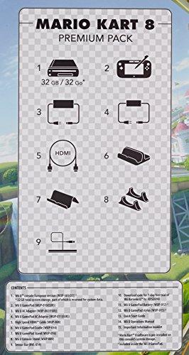 Nintendo Wii U Premium Pack schwarz, 32GB inkl. Mario Kart 8 (vorinstalliert) - 8