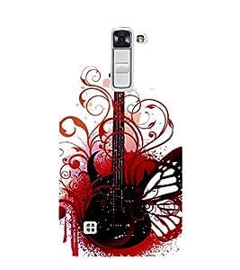 Wonderful Guitar 3D Hard Polycarbonate Designer Back Case Cover for LG K10 4G Dual