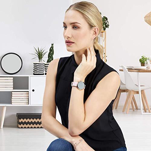 X-WATCH SIONA Smartwatch Damen iOS und Android Watch - Damenuhr rosegold Aktivitätstracker Damen elegant Fitnessarmband mit Herzfrequenz Fitness Uhr mit Schrittzähler - 3