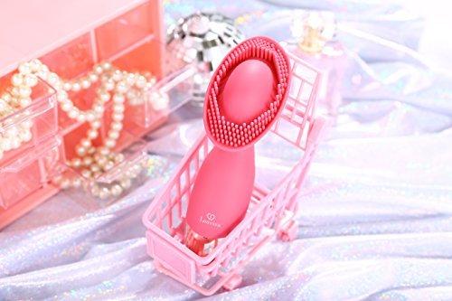 Louviva Vibrator: Klitoris und G Punkt Stimulation – 10 Frequenzschwigung – Starke Klitorisstimulator – Medizinisches Silikon – 100% Wasserdicht – Elektrische handgehalten USB-Auflade(rosa) - 6