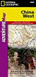 China, Westen: NATIONAL GEOGRAPHIC Adventure Maps