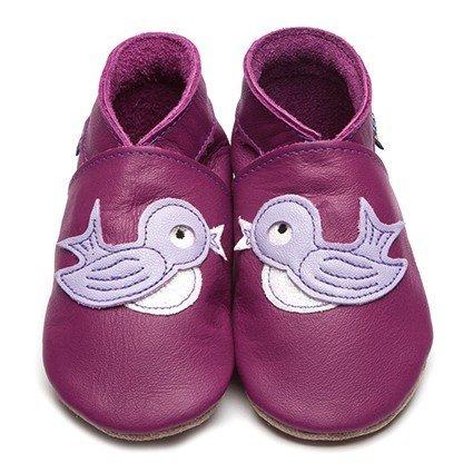 InchBlue Chaussures d'apprentissage de marche / Chaussons 2875 Bluebird en Violet
