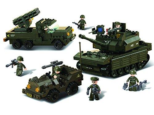 Sluban M38-B6800 Army - Field Battle Forces