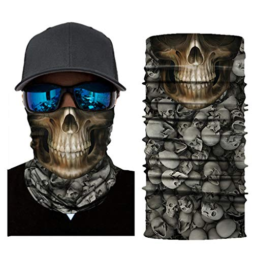 AmyGline Reitmaske Schal Halswärmer Gesichtsmaske Ski Balaclava Stirnband Maskerade Maske ()