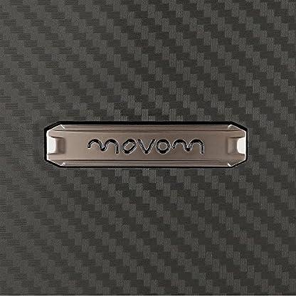 Movom Newport Equipaje de Mano, 55 cm, 36 Litros, Negro