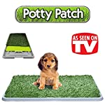 The Original Potty Patch–Artificial Grass Litter Tray For Dogs, Toilet Training Mat For Puppies, Replaces Absorbent Cloths - Odour Control Anti-bacterial –Perfect For Puppies Going To The Toilet In The House, the For Dogs up to 7kg–Large 70x 44x 5cm 3