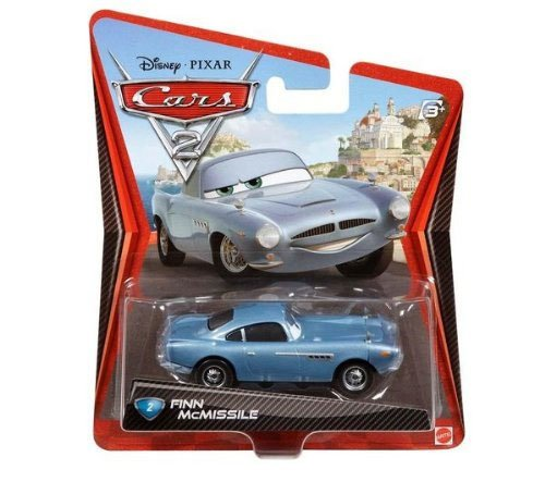 Mattel - W1940 - Voiture Miniature - Cars 2 - Finn McMissile