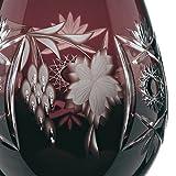 Spiegelau & Nachtmann, Weinglas mit Schliffdekoration, Kristallglas, 230 ml, Traube, 0035947-0, Amethyst, Dunkelrot