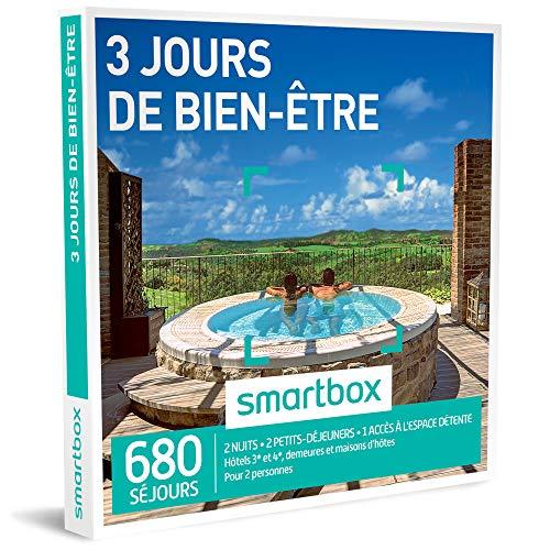 SMARTBOX - 3 jours de bien-être - Coffret cadeau relaxation - À choisir parmi 680...