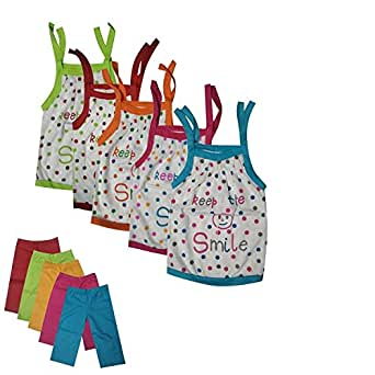 d9c5e9ddc GMR Maruthi Kids Baby Top and Bottom Set 6-12 Months (Pack of 5 ...