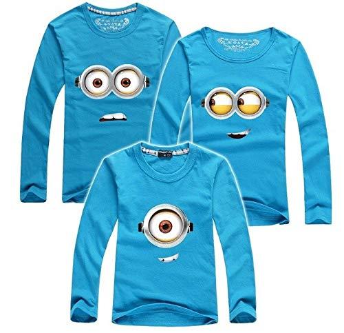 Generic IDEA HIGH 2018 Kinder T-Shirts Günstlinge Kleidung Familie Kleidung passende er Tochter Vater Sohn Kleidung Familie Blick 7 Farbe: 4, Dad 4XL