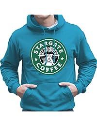 Stargate SGC Starbucks Coffee Men's Hooded Sweatshirt
