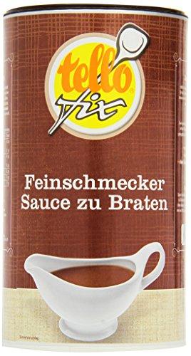 tellofix Feinschmecker-Sauce , 1er Pack (1 x 752 g Packung) -