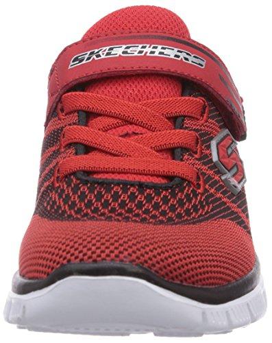 Skechers Flex AdvantageMaster Mind Jungen Sneakers Rot (Rdbk)