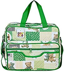 Bey Bee - Mama's Bag Traveler Bag Mother Bag {Diaper Bag} (Green.)