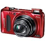 Fujifilm FinePix F660EXR Digitalkamera (16 Megapixel, 15-fach opt. Zoom, 7,6 cm (3 Zoll) Display, bildstabilisiert) rot