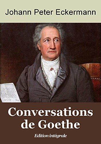 Conversations de Goethe