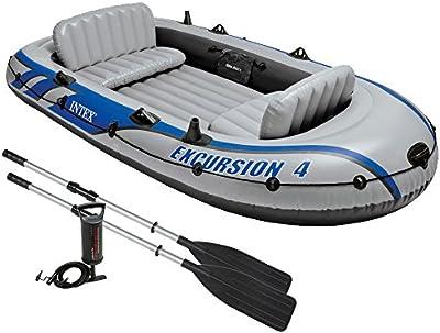Intex Excursion 4 - Barco hinchable