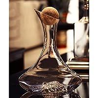 Carafe Iceberg Sans Plomb Cristal Verre Bouteille Vin Rouge Séparateur Vin  Rapide 1 Pcs (Couleur c4d2be57f943