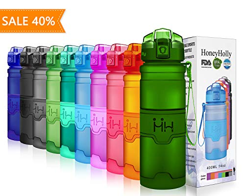 HoneyHolly Sports Water Bottle -...
