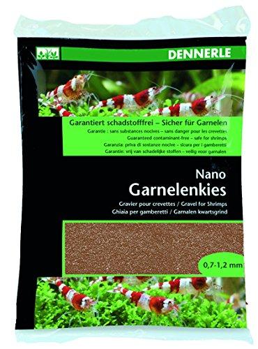 Dennerle 7004149 Nano Garnelenkies 2 kg, Borneo braun