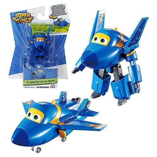 Super Wings - Mini Transform Flugzeuge Transform-a-Bots zur Auswahl, Super Wings:Jerome