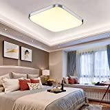 HENGDA® 18W LED Deckenleuchte Modern Deckenlampe Warmweiß Flur Wohnzimmer Lampe Schlafzimmer 85V-265V