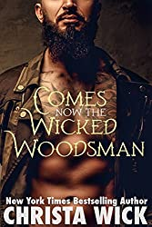 Comes Now the Wicked Woodsman (A Night Falls Alpha Wolf BBW Shapeshifter Romance) (English Edition)