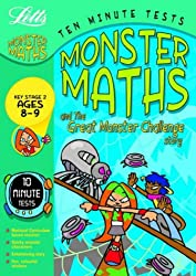 Ten Minute Monster Tests Maths 8-9: Ages 8-9