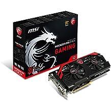 MSI AMD Radeon R9 290X Grafikkarte (16x PCI Express 3.0, 4GB GDDR5 Speicher, 1x DisplayPort, 1x HDMI, 2x Dual-Link DVI)