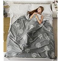 Saco de dormir sucio para viajar Ropa de cama portátil de doble sabana de algodón antisuciedad