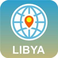 Libia Mapa Desconectado