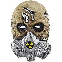 KYX-GAOMOUREN Halloween Horror Bioquímica Máscara De Gas Cráneo Conjunto Baile Partido Asustado