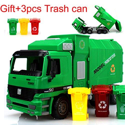 Müll-LKW,Müllwagen, grün (Dickie-spielzeug-müll-lkw)