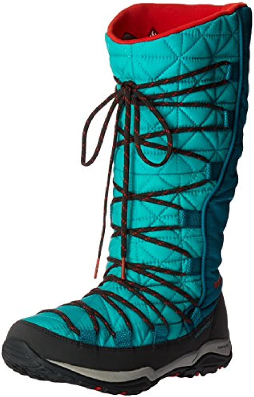 Columbia  land Omni-Heat-W, Bottes Bottes Bottes Femme - Rouge - Reef/Spicy, 36.5 EUB0183NZUFUParent 5f7ac9