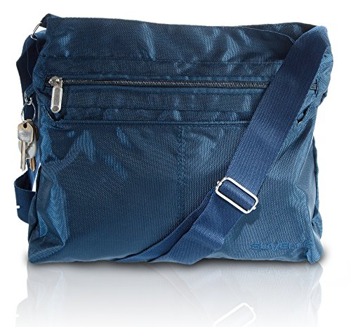 Suvelle Classic Travel Crossbody Bag, Handbag, Purse, Shoulder Bag 1905 (Anne Klein Handtasche)