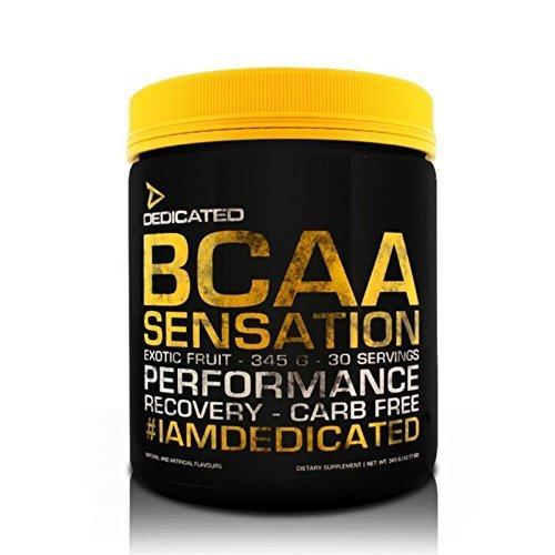 Dedicated Nutrition BCAA Sensation - 345g - 30 Servings (Mango Strawberry)