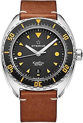 Eterna Men's Automatic Watch Kontiki Date Analogue 1273.41.49.1363