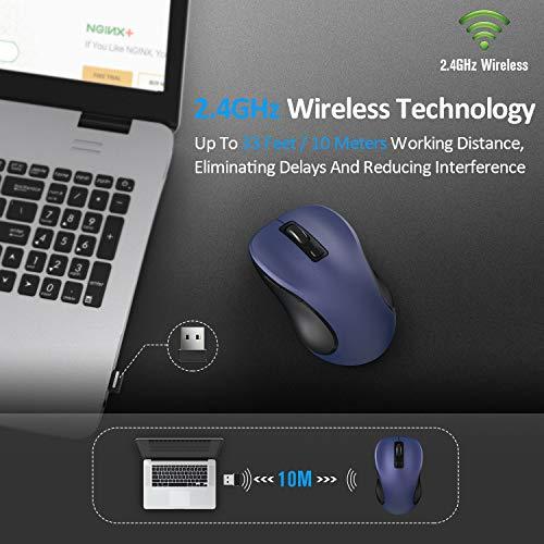 Zoom IMG-2 tedgem mouse wireless 2 4g