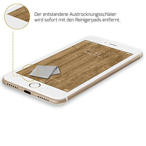 Glaz Liquid der liquido Pellicola Protettiva in Vetro per il vostro iphone 7Plus/vetro temperato/Schermo/Va sul bordo del display.