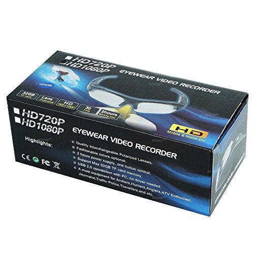 WISEUP Sport-Sonnenbrille mit Videokamera - 9
