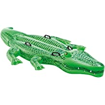 Spielzeug Kinderbadespaß Intex Krokodil Schwimmtier Reittier 168cm X 86cm