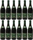 Lambrusco rosso dolce Gualtieri Dell`Emilia IGT mit Schraubverschluss (12 X 0,75 L) - Vino Frizzante - Roter Süßer Perlwein 7,5 % Vol. aus Italien